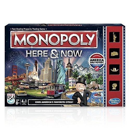 Monopoly hier & jetzt Spiel: US Edition