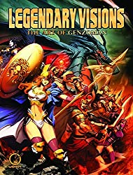 Legendary Visions: The Art of Genzoman by UDON (2011-08-23)