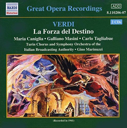 Verdi: Forza Del Destino (la) (Tagliabue, Caniglia) (1941)
