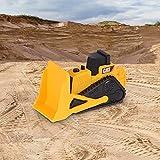 Enlarge toy image: Cat Mini Machines - 5 Toy Vehicle Playset - Digger Dump Truck Bulldozer Backhoe Excavator