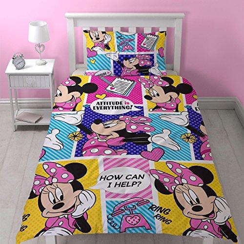 Disney Juego edredón Simple Minnie Mouse diseño