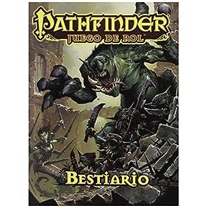 Devir- Pathfinder-Bestiario Juego de Rol, Multicolor (PFBESTP) , color/modelo surtido