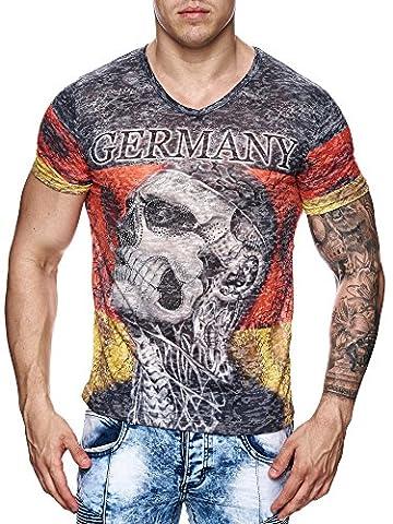 Herren Germany T-Shirt A-3017 | (M,