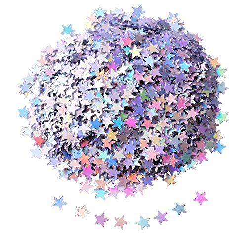 Confeti Estrella Confeti Mesa Lentejuelas