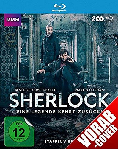 Preisvergleich Produktbild Sherlock - Staffel 4 [Blu-ray]