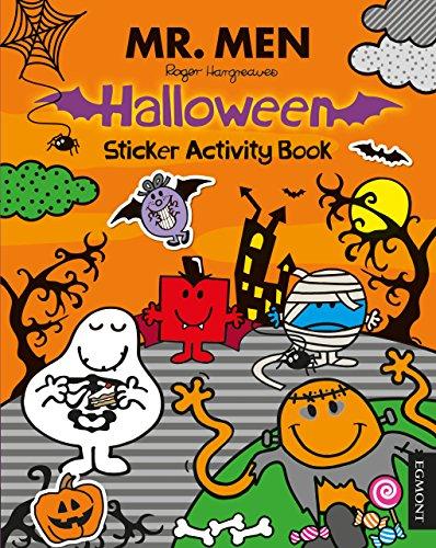 Mr. Men Halloween Sticker Activity Book