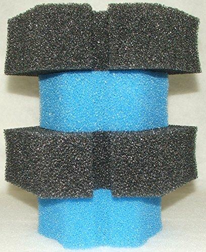 Filterschwamm Set für Oase Biopress 10000, 4x mittel