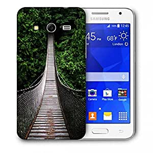 Snoogg One-Way-Home Printed Protective Phone Back Case Cover For Samsung Galaxy Core 2 / Core II G355H