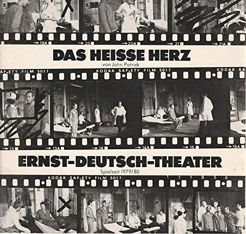 Programmheft Das heiße Herz von John Patrick. Premiere 24. April 1980. Spielzeit 1979 / 80 Heft 9 und 10 -