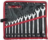 Am-Tech 11 Stück Combination Spanner Set, K0400