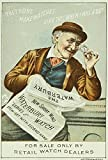 Watch Trade Card C1880. /Namerican Merchant Trade Card C1880 For The