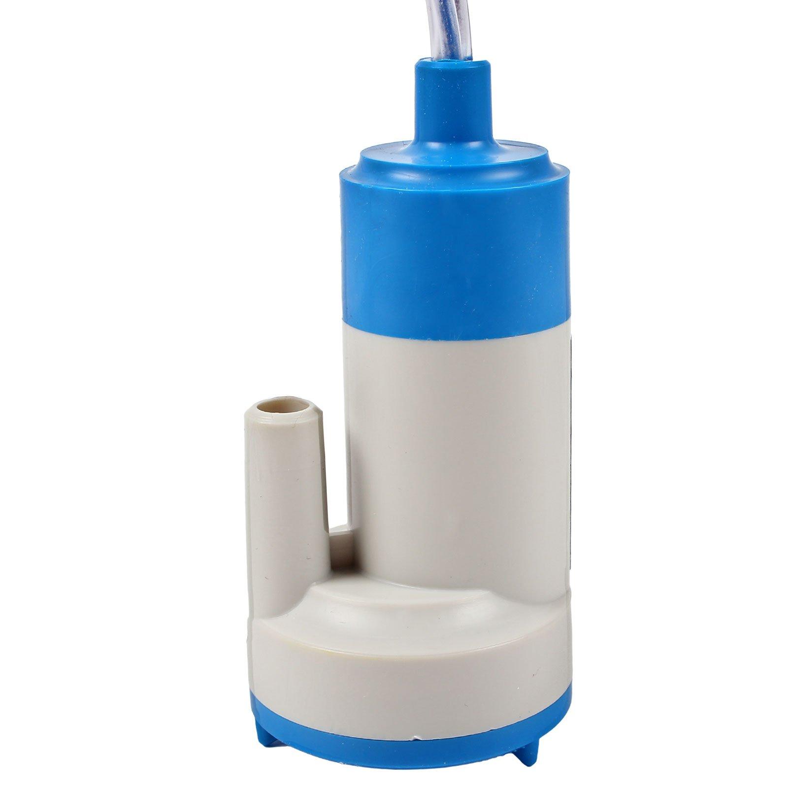 roulotte altezza: 135/mm 12 V/ Rubinetto con pompa sommersa per camper /in Plastica ABS 90/g Bianco