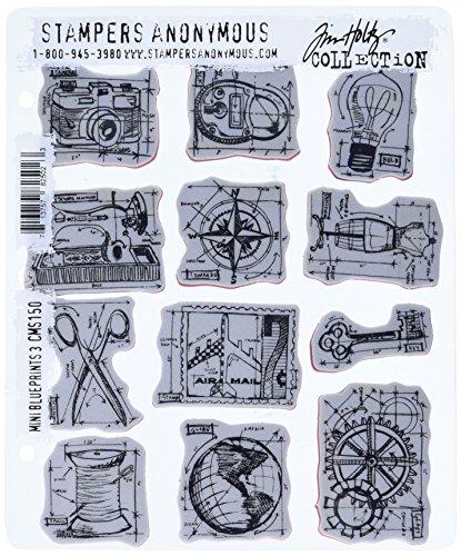tim-holtz-cling-monte-sur-des-ensembles-tampons-anonymous-artful-outils-tampon-en-caoutchouc