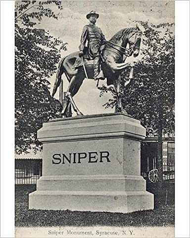 Photographic Print of Sniper Monument at Syracuse, New Jersey, USA
