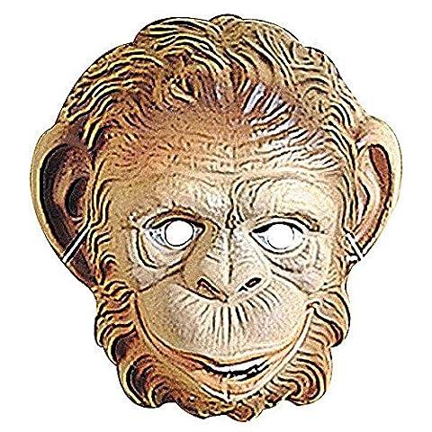 Monkey Mask Child Plastic Ape Masks Eyemasks & Disguises for Masquerade Fancy Dress Costume Accessory