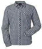 Schöffel Herren Shirt Miesbach1 Hemd, Ebony, M