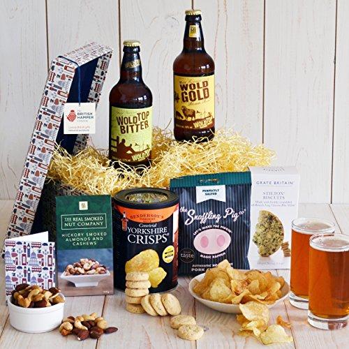 Beer & Bar Snacks Hamper - Gift Card Included