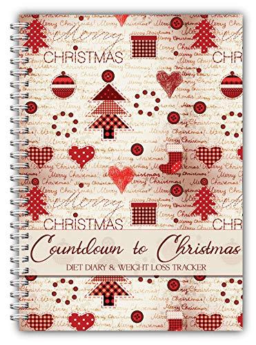 ensmitteln Log Journal, Tagebuch, Abnehmen Diary, Lebensmittel und Bewegung Diary, kompatibel mit jedem Ernährung Plan,, Sommer Staub mit ()