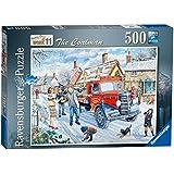 Ravensburger Happy Days at Work No. 10 - The Coalman 500pc Jigsaw Puzzle