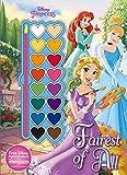 Disney Princess Fairest of All (Paint Palette Book) by Parragon Books Ltd (2016-01-01)