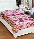 #10: Super India Reversible Cotton Dohar/Duvet/Quilt/Rajai Cover with Zipper Closure - Single Bed