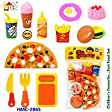 #6: Siddhi Vinayak™ Kitchen Role Restaurant Role Pretend Play Fast Food Set