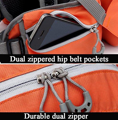 Cuckoo 20L Nylon Waterproof Wandern Daypack Leichter Rucksack für Outdoor Radfahren Laufen Camping Biking Gelb