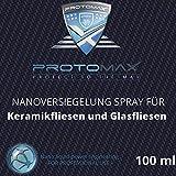 PROTOMAX Nanoversiegelung-Spray für Keramikfliesen und Glasfliesen im Badezimmer (100 ml)