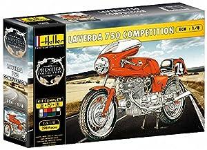 Heller - 52911 - Muestra - vehículos de Dos Ruedas - Laverda 750 Competencia - 01.08 Escala - Kit