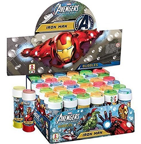 2 FLACON BULLE DE SAVON AVENGERS IRON MAN 120 ML MARVEL