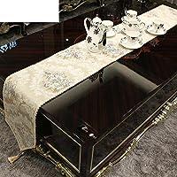 tovaglia/ European-style tovaglia/Pad del tavolo sala da pranzo/tovaglia/[panno]/[tovagliette]/Soggiorno tavolino stuoie/tovaglia-A 32x210cm(13x83inch)