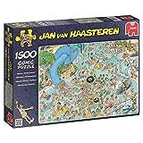 Jumbo 17314 - Jan van Haasteren - Tropischer Badetag - 1500 Teile