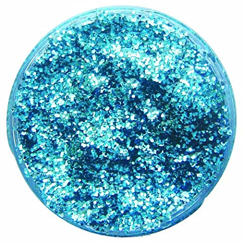 Snazaroo Face and Body Paint, Glitter Gel, 12 ml - Sky Blue