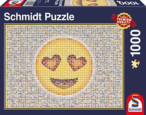 emoji puzzle Schmidt Spiele 58220 - Emoticon, 1.000 Teile, Klassische Puzzle