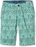 Garcia Kids Jungen Short P63722, All Over Print, Gr. 176, Grün (Reef 1743)