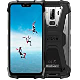 Smartphone Antiurto, Blackview BV9700 Pro Rugged Cellulare, 6GB+128GB, SD 256GB, Android 9.0, Helio P70 Dual Sim 4G, 16MP+8MP