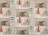 Zanderino Baumwoll-Popeline, Digitaldruck, Elche-Patch,