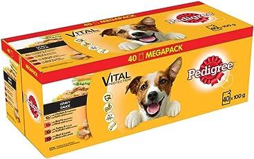 Pedigree Vital Protection Hochwertiges Hundefutter mit Huhn, Rind, Geflügel und Lamm