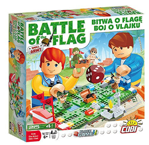 COBI 2970 - Konstruktionsspielzeug, Battle of The Flag, grün - Battle Flag