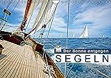 Segeln: Der Sonne entgegen (Wandkalender 2018 DIN A4 quer): Segeln: Sail-away-Feeling hart am Wind (Monatskalender, 14 Seiten) (CALVENDO Sport) [Kalender] [Apr 01, 2017] CALVENDO, k.A.