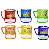 ARVANA Return Gifts for Birthday Party for Kids with Cartoon Printed Mugs for Girls / Boys ( Pack of 6 )