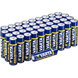Varta Batterien Mignon AA LR6  Made in Germany Vorratspack 40 Stück  in umweltschonender Verpackung
