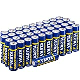 Varta Batterien Mignon AA LR6  Made in Germany...