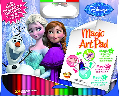 Magic Sticky Frozen Art Pad (Mehrfarbig)