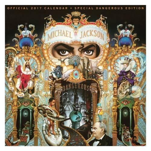 Michael Jackson Official 2017 Square Calendar (Calendar 2017)