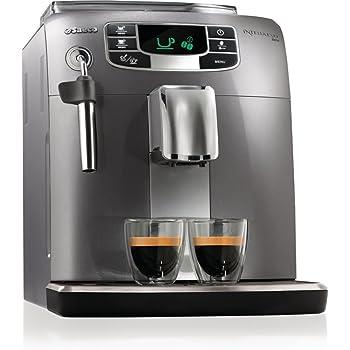 Saeco Intelia Evo HD8770/10 freestanding Fully-auto Espresso machine 1.5L Silver coffee maker - Coffee Makers (Freestanding, Espresso machine, 1.5 L, Built-in grinder, 1850 W, Silver)