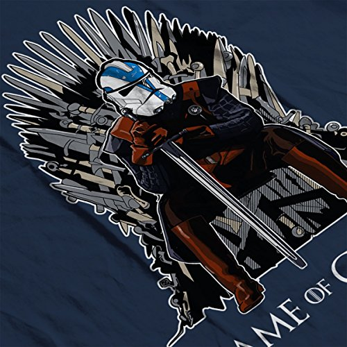 Game Of Thrones Star Wars Clones Women's Vest Navy Blue