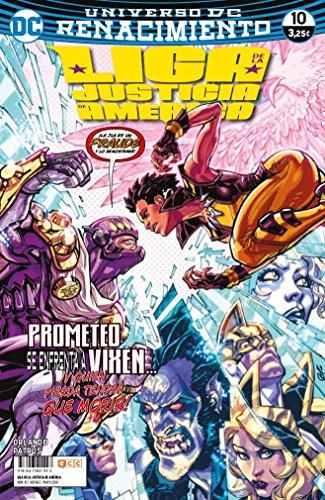 Liga de la Justicia de América núm. 10 (Renacimiento) por Steve Orlando