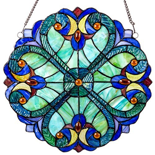 river-of-goods-12-inch-tiffany-style-stained-glass-mini-halston-window-panel-by-river-of-goods
