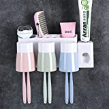 The Wall Toothpaste Cartridge Brushing Cup Kit Bluetooth A Mouthwash Cup Wash The Wall-Mount Suction Toilet Of 11